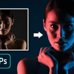Better DUAL LIGHTING Effect In Photoshop [Total Control]