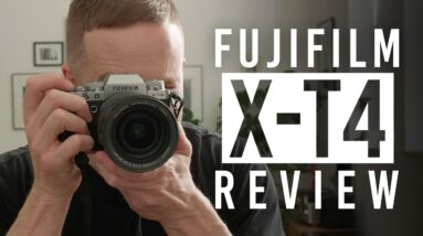 FUJIFILM X-T4: First Impressions and Hands-on Review