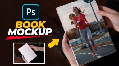 How To Create BETTER Book Cover Mockups In Photoshop!