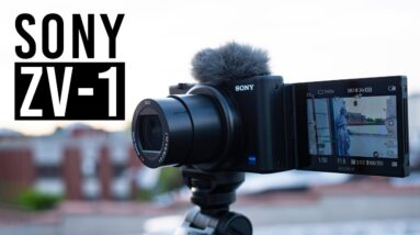 Is the Sony ZV-1 a Good Vlogging Camera? | Hands-on Review