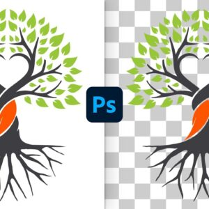 Remove White Background from Logos in Photoshop(Fast & Easy!)