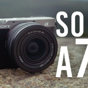 Sony a7C: A Full Frame Camera in an APS-C Size Body! | Hands-on Review