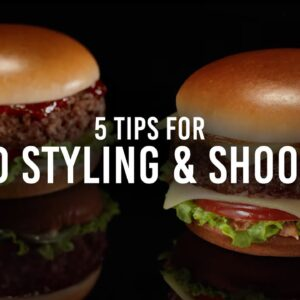 5 Tips on Food Styling and Food Shooting with David Ma