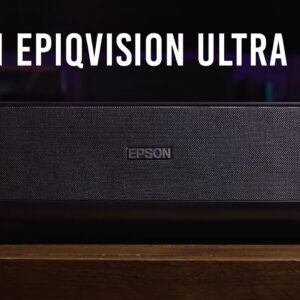 Epson EpiqVision Ultra LS300 Smart Streaming Laser Projector | Hands-on Review