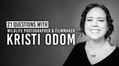 Kristi Odom's Most Dangerous Wildlife Photography Photoshoot & More | 21 Questions