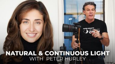 Natural & Continuous Lighting for Headshots | Back to Basics with Peter Hurley