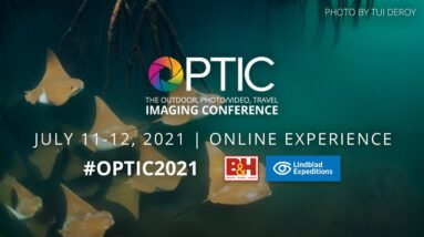 OPTIC 2021: B&H's Online Outdoor Photo/Video, Travel Imaging Online Experience   #Shorts
