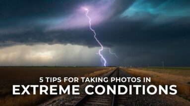 How to Take Photos in Extreme Conditions: 5 Landscape Photography Tips with Mike Mezeul II