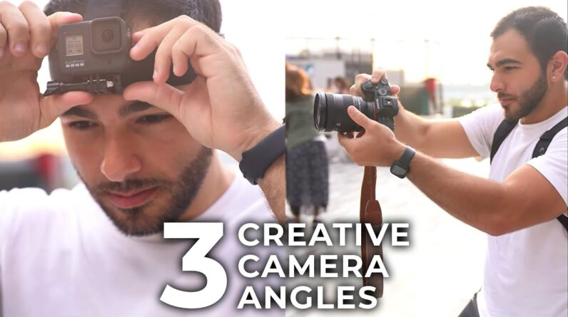 3 Creative Camera Angles in 30 Seconds #Shorts