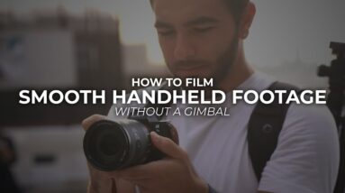 How to Capture Smooth Handheld Footage #Shorts