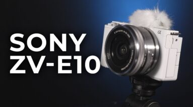 Sony ZV-E10: A Compact Camera for the Content Creator! | Hands-on Review