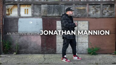 An Interview with Jonathan Mannion
