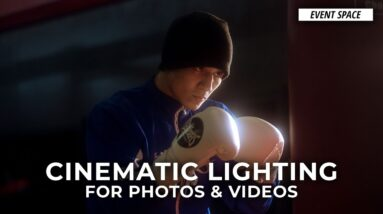 Cinematic Lighting for Still & Motion with Alexis Cuarezma | B&H Event Space