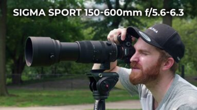 Sigma Sport 150-600mm f/5.6-6.3 DG DN OS Ultra Telephoto Lens   Hands-on Review