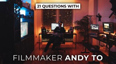 Andy To's Home Studio, Filmmaking Style, Short Film Production & More | 21 Questions