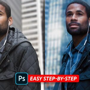 Simple Way To Apply a Cinematic Color Grade in Photoshop!