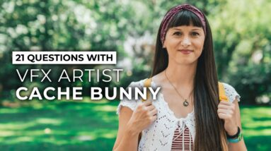 VFX Artist Cache Bunny's Favorite Video Editing Software & More | 21 Questions