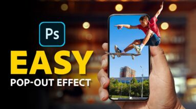 How to Create a 3D Pop-Out Effect in Photoshop