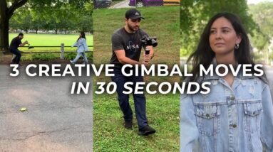 3 Creative Gimbal Moves in 30 Seconds #Shorts