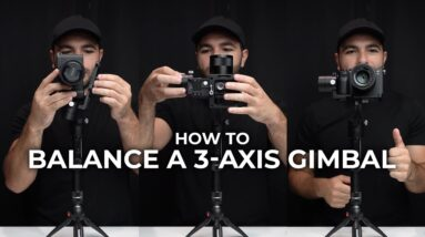 How to Balance a 3-Axis Gimbal #Shorts