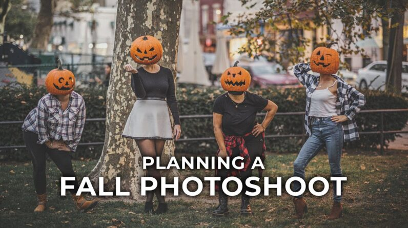 How to Plan a Fall Photoshoot
