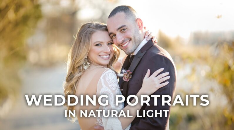 How to do a Wedding Photoshoot in Natural Light: 5 Photography Tips with Susan Stripling