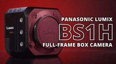 Panasonic Lumix BS1H Full-Frame Box Camera | Hands-on Review